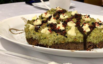 Wegańskie ciasto pistacjowe