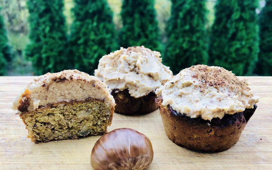 Kasztanowe muffinki z 3 składników