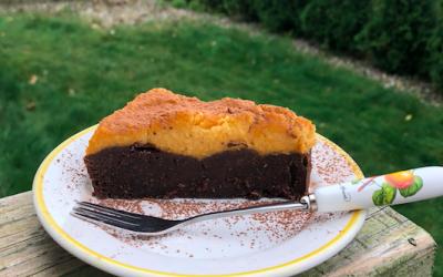 Wegańskie brownie z jaglaną dynią