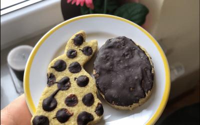 Kruche maślane ciasteczka bez cukru